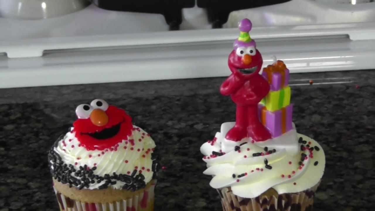 Elmo Cupcake Decorating Ideas