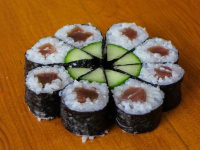 Full Moon Sushi Roll - Art Sushi Recipe