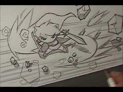 How I Draw - Link | Zelda | Wind Waker