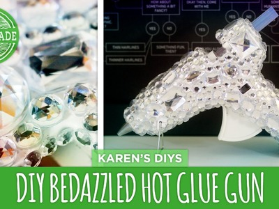 How to Bedazzle Your Hot Glue Gun - HGTV Handmade