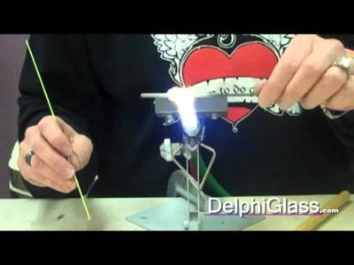 How to Decorate a Bead with Stringer | Delphi Glass