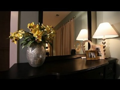 How to Do Wall Mirror Art : Interior Design 101