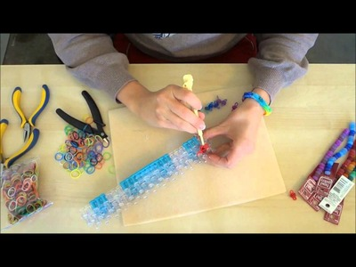 How to Make a Beaded Rainbow Loom Bracelet by Halcraft USA
