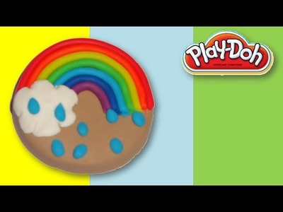 How to make a play-doh rainbow cookie