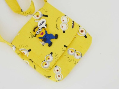 How To Sew A Mini Minion Messenger Bag - DIY Crafts Tutorial - Guidecentral