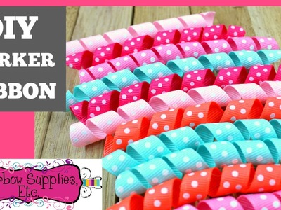 Korker Ribbon Tutorial - DIY Korkers - Hairbow Supplies, Etc.