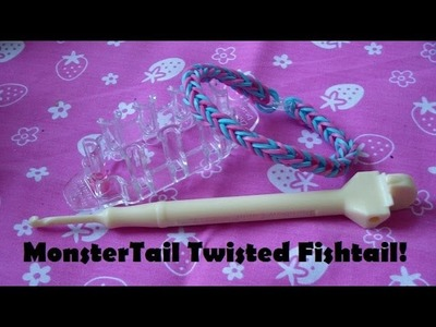 Monster Tail Loom Tutorial: Basic Twisted Fishtail (Beginners)