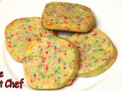 Rainbow Cookies - RECIPE