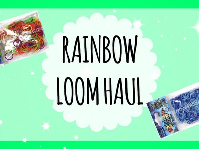 RAINBOW LOOM WEBSTORE HAUL :)))