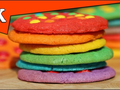 RAINBOW OF COOKIES - M&M Rainbow Cookies