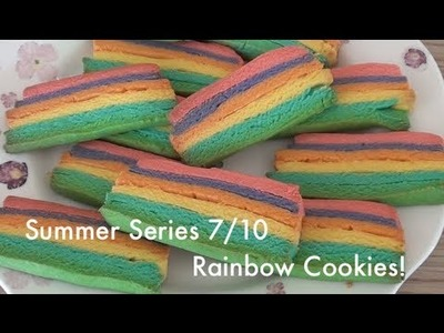 Summer Series | 7.10 Homemade Rainbow Cookies! | VEDA DAY 24