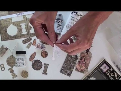 Tim Holtz Alterations Tiny Tabs and Tags Die