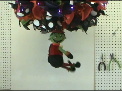 Trendy Tree Tutorial for Making a Halloween Chandelier