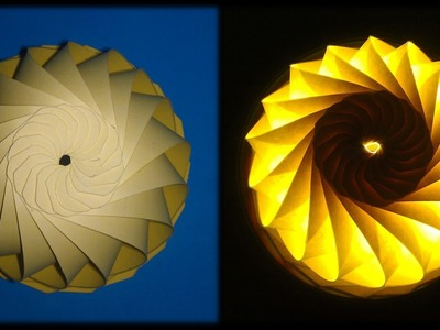 Tutorial 17 - Modular Dome Decorative 1 Paper Cutting Folding