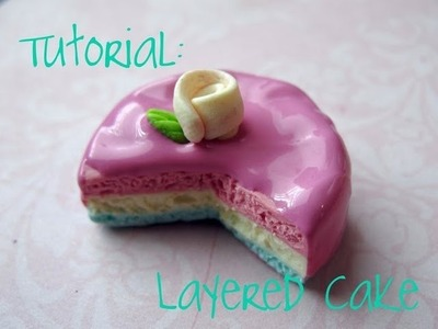 ♡♫ Tutorial: 3 Layer Cake! ♡♡