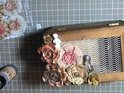 Vintage Crowded Attic Altered Box (in the making!!)