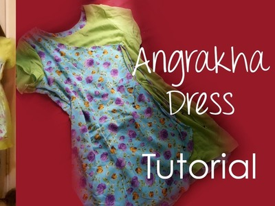 ♥ Angrakha Dress ♥ Tutorial ☁ half wrapped dress