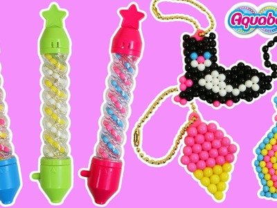 AquaBeads Spiral Pen Bead Playset Fun & Easy Amazing Bead Art Creations!