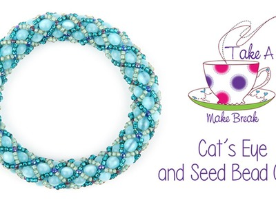 Cat's Eye Cuff Tutorial | Take a Make Break with Sarah Millsop