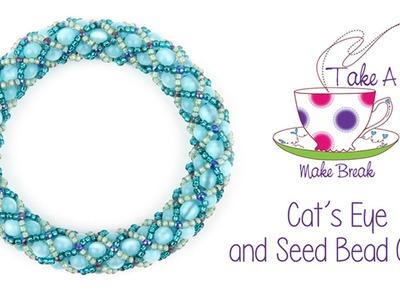 Cat's Eye Cuff Tutorial | Take a Make Break with Sarah Millsop