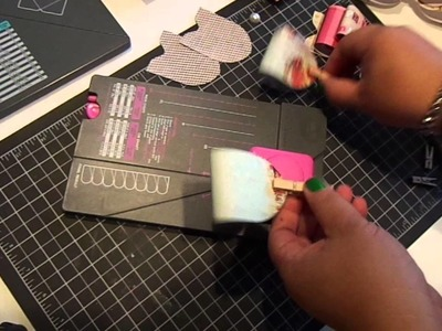 Create a Large Bow with WRMK Flower and Envelope Punch Board