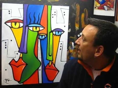Creating Another Abstract Pop Art Painting - Fidostudio