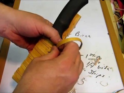DIY Birch Bark Sheath