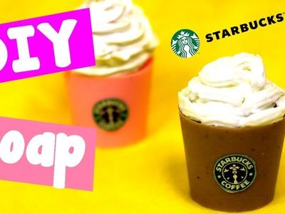 DIY Crafts: Starbucks Soap | Easy Melt & Pour Soap Tutorial | Starbucks DIY