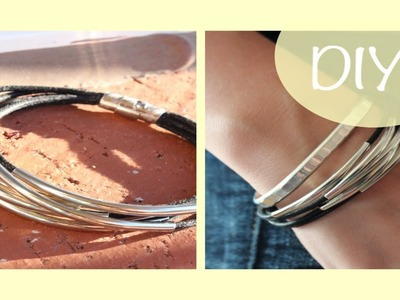 DIY Multi-Cord Bracelet | DIY Friday