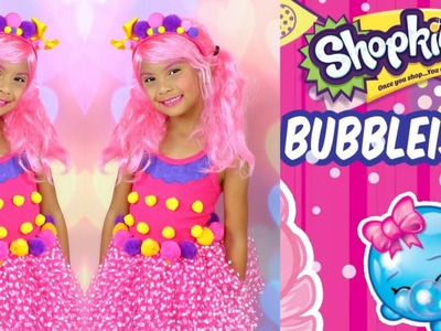 DIY Shopkins costume  and makeup tutorial|  Halloween costume for kids
