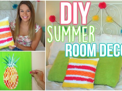 DIY Summer Room Decor: Tumblr Inspired!!