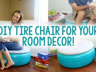 DIY Tire Chair | TUMBLR INSPIRED | Tanner & Courtney