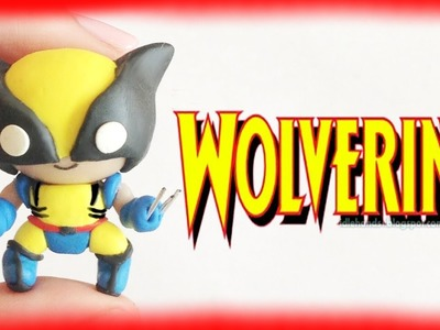 DIY Wolverine from MARVEL X-men Chibi Clay Character