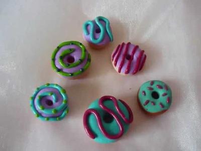Fimo - Tutorial Donuts (ciambelle)