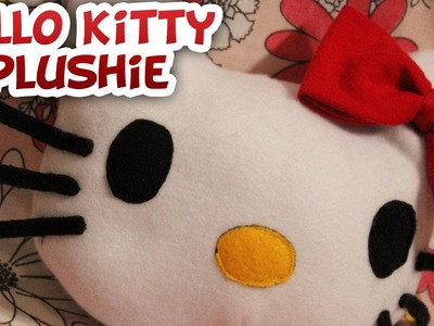 Hello Kitty Plush DIY - Whitney Sews