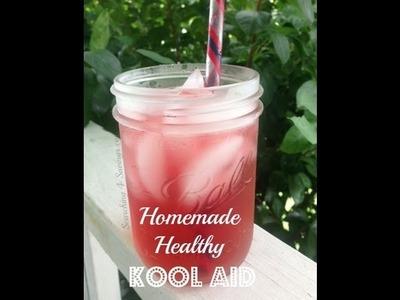 Homemade Healthy Kool-Aid