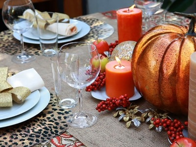 How To Create a Fabulous Thanksgiving Centerpiece!