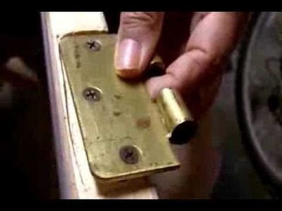 How to Fix a Loose Door Hinge in 10 Minutes