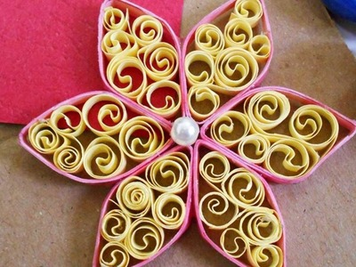 How To Make A Honeycomb Quilling Flower - DIY Crafts Tutorial - Guidecentral