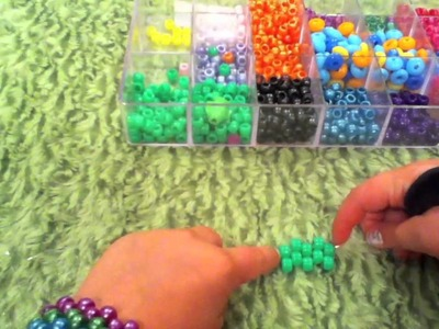 How to make a kandi.pony bead pacman ghost