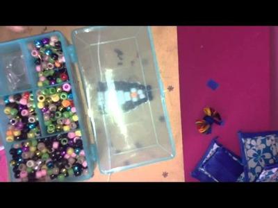 How to make a pony bead penguin