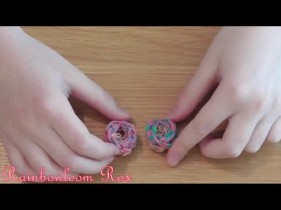 How To Make A Rainbow Loom 3D Mini Donut No Loom Required