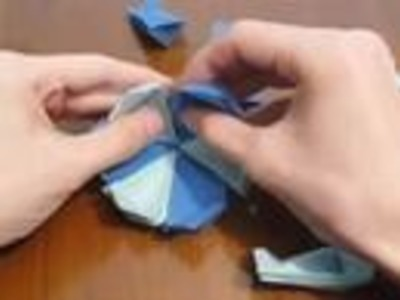 How to make an origami box in a box