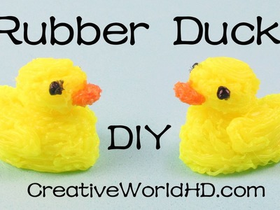 How to Make Rubber Ducky.Duck - 3D Printing Pen Creations DIY Tutorial