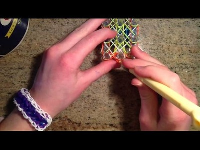 How To Make The Rainbow Loom Bracelet Called The Feather Bracelet