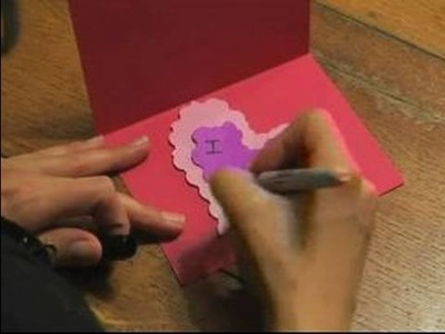 How to Make Valentine's Day Gifts : How to Make a Valentine's Day Card
