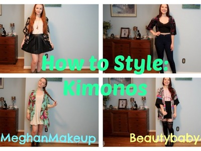 How to Style: Kimonos feat. Lindsey | MEGHAN HUGHES