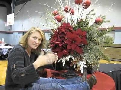Huge Christmas Arrangement! The Final Product