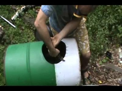 Jaimie and Calvin Make a Wood Stove