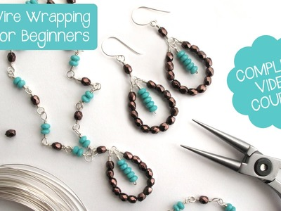 Jewelry Making: Wire Wrapping for Beginners - Complete Video Course PROMO!